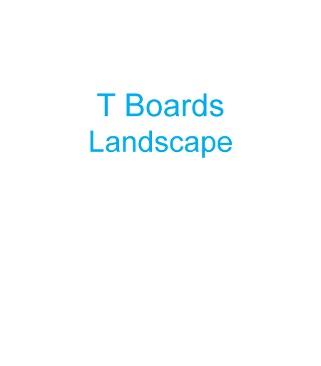 image of a T board