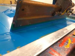 A Screen Printing Squeegee